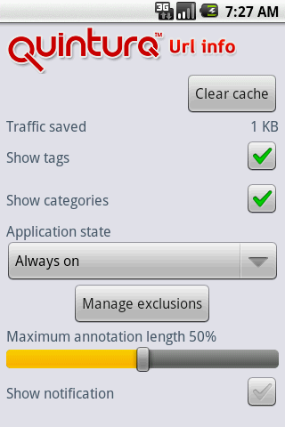 URL Info - screenshot