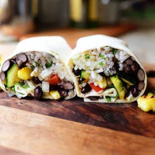 Grilled Veggie Burrito.