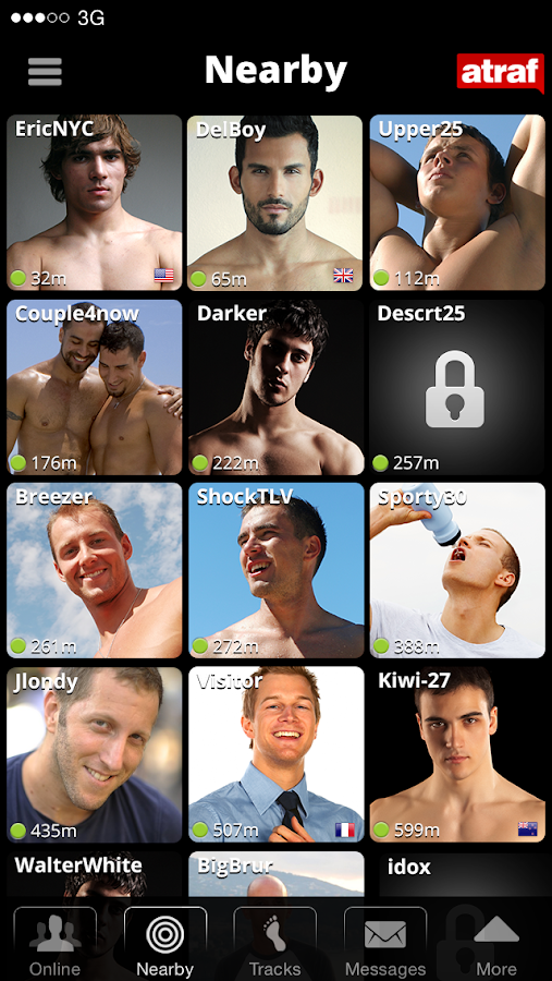 Atraf - Local gay app- screenshot