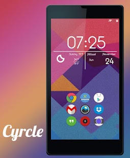 Cyrcle Icon Theme Apex Go Nova 12.0