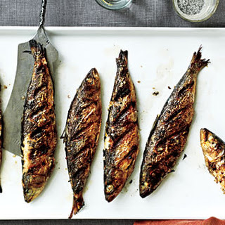 Grilled Fresh Sardines Recipe