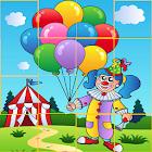 Circus Cartoon Puzzle icon