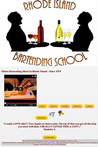 Rhode Island Bartending School