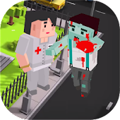 Zombie Craft Runner 3D