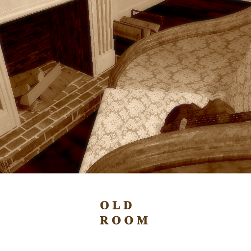 old room Escape from book