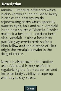Ayurvedic Plants and Herbs - screenshot thumbnail