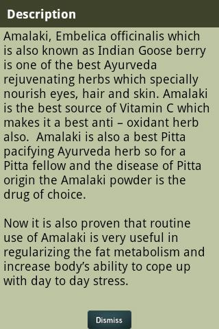 Ayurvedic Plants and Herbs - screenshot