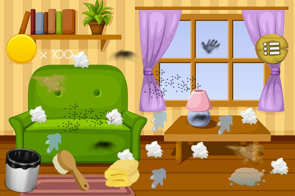 House Clean Up Kids Game Android Apps On Google Play