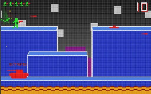 8-bit Virtual War