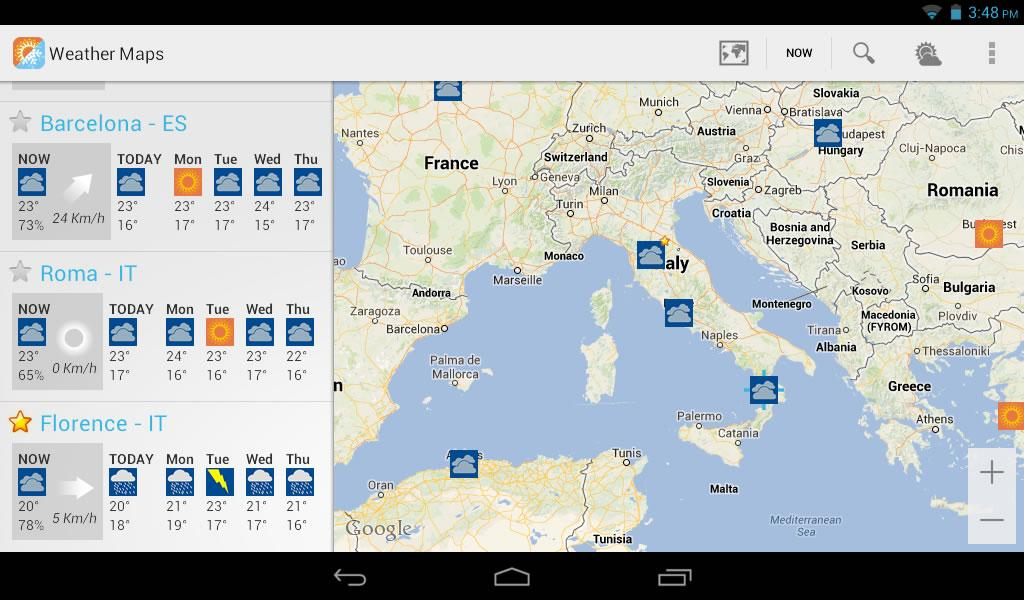 Weather Maps Beta- screenshot