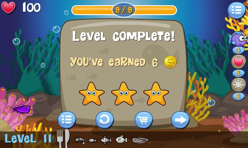 Hungry Fish - screenshot