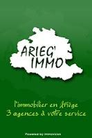 Screenshot of Arieg' Immo