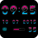 Digital Clock Widget A-MYSTIC icon