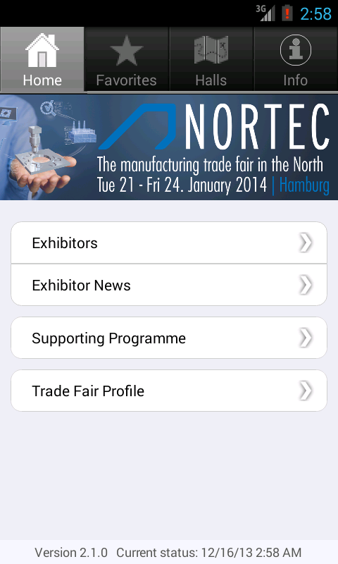 NORTEC- screenshot