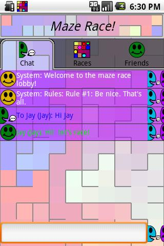 Maze Race - screenshot