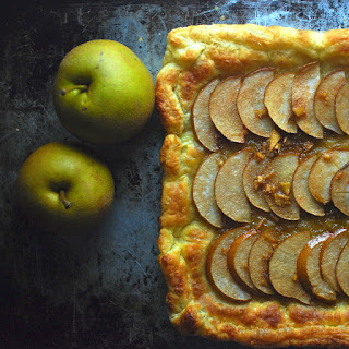 Easy Ginger Asian Pear Tart