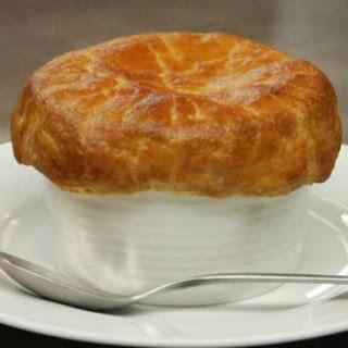 Mock Crab Pot Pie.