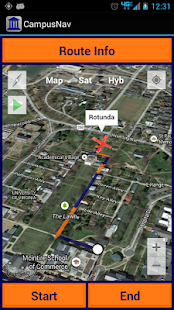 CampusNav: College Maps & GPS- screenshot thumbnail