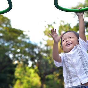 Flying Without Wing by Khalid Azamir Abdul Halim - Babies & Children Child Portraits
