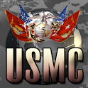 USMC Live Wallpaper HD FREE icon