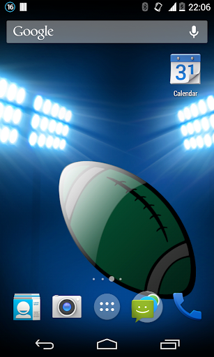 NY Football Live Wallpaper