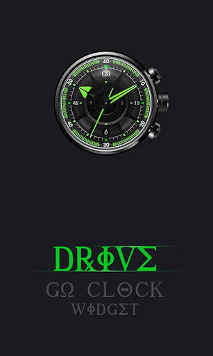 Drive - Clock Widget