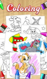 Draw+Coloring Books - screenshot thumbnail