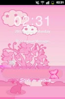 Screenshot of GO Locker Theme Pink Rabbit