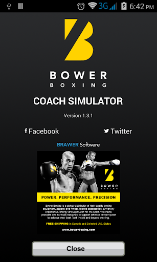 Bower Boxing Coach Simulator