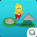 Shape Hopscotch Playtime icon