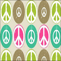 Peace Keyboard Skin logo