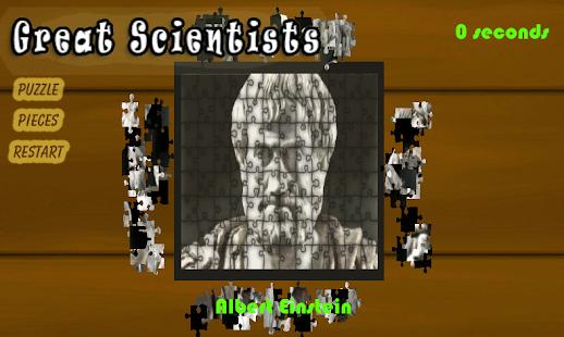 Jigsaw Puzz - Great Scientists