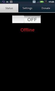 VNC server - screenshot thumbnail