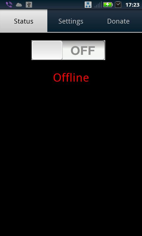 VNC server - screenshot