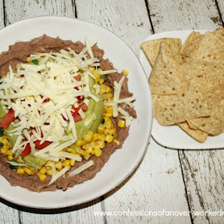 Healthy Mexican Dip