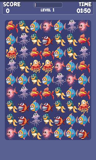 Match 3 Fish Games