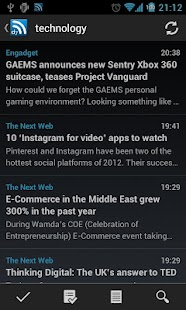 D7 Reader Pro (RSS | News)- screenshot thumbnail