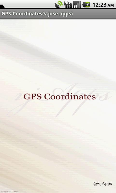 GPS Coordinates GPS Location - screenshot