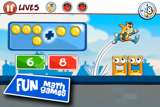 Math learning games for kids