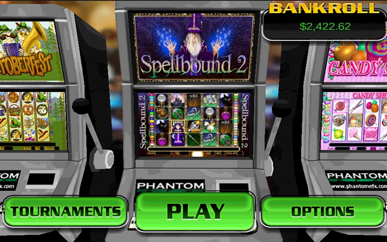 Spellbound 2 HD Slots- screenshot