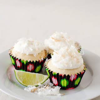 Coconut Lime Cupcakes.