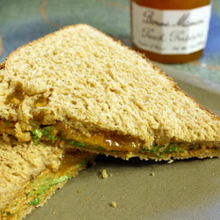 Curried PBJ Sandwich. No, Really.