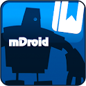 mDroid: Money Manager logo