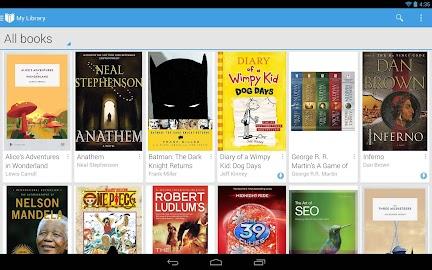 Google Play Books Screenshot 2