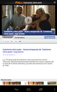 Cuéntame Cómo Pasó en RTVE.es - screenshot thumbnail