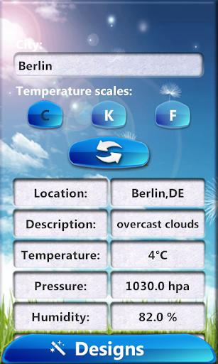 HD时钟天气小工具