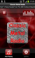 Screenshot of Classic Metal Radio