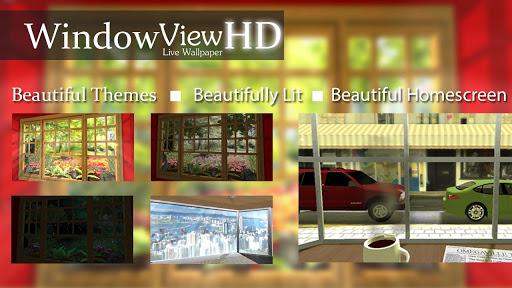 WindowView HD Live Wallpaper