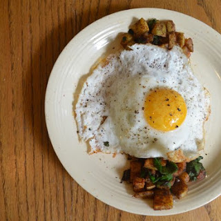 Beet Green Breakfast Potatoes