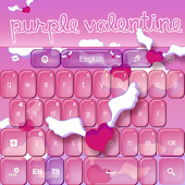 Purple Valentine Keyboard